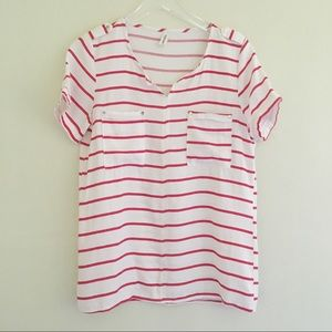Design From Italy XIEHOUWEIYI Stripe Top S